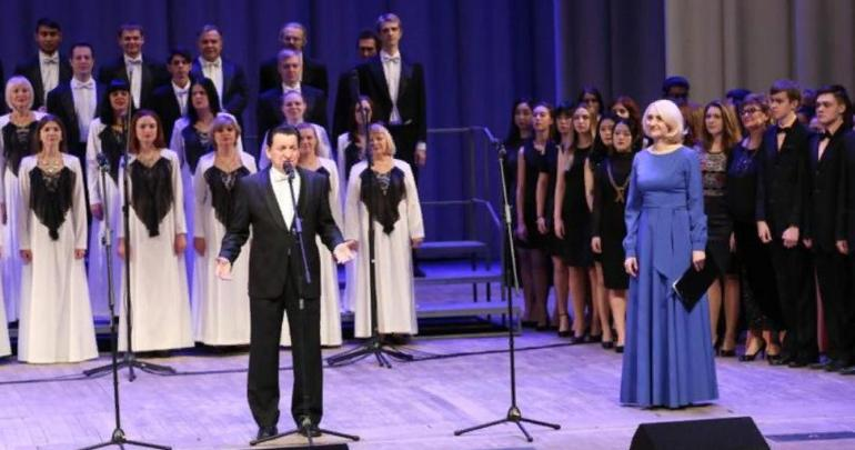 Choral music festival in Penza