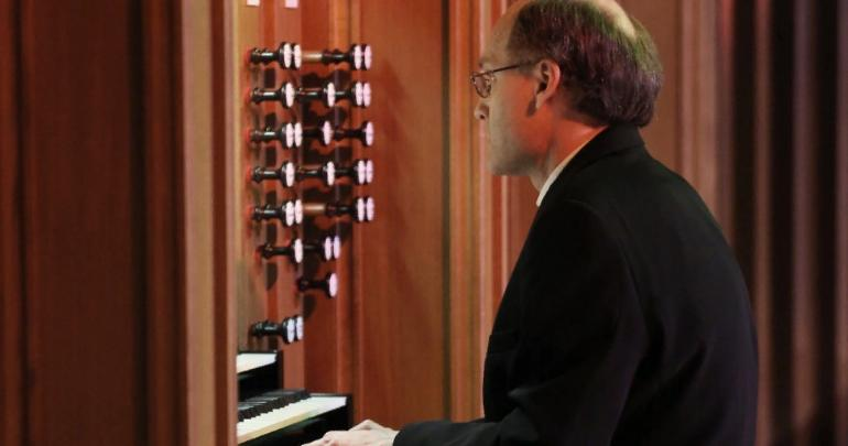 Famous Spanish organist Julian Bewig performed in Penza